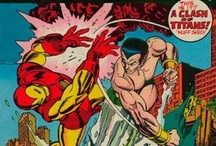 Classic Iron Man covers and art