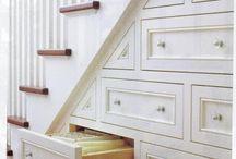 schowki schody