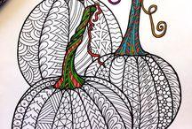 Zentangle food