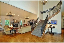 Great Entrances in OKC / Great entrances and stairways from properties listed by real estate agents at RE/MAX First in Oklahoma City, Oklahoma.