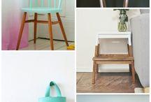 Malede møbler