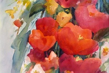 Cheryl Johnson Appreciates Watercolor by others