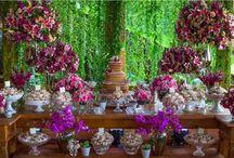 Decoração de casamento pink / Inspirações e ideias para decoração de casamento na cor pink.