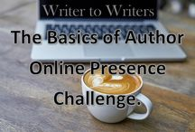Basics of Author Online Presence Challenge / Links to all the #AuthorOPChal posts. #authorplatform #authorbrand #socialmediatips