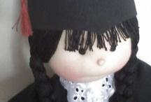 Bonecas / moldes de bonecas de pano  roupinhas