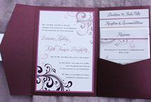 wedding invitations / by Cathi Griffioen