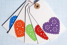 Cards and Tags / Good Ideas to make greeting cards and gift tags / by Coqueta Bonita