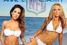 NFL Cheerleaders and Babes / Hottest girls in the NFL. / by CalvinAyre.com