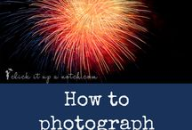 Photography How To's - Fireworks