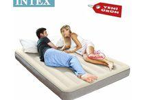 Intex Tek Katlı Şişme Yatak Queen Deluxe 152x203x25cm Hediyecik.com.tr Online Oyuncak Hediye Alışveriş 7/24 Sipariş 0212 325 24 25