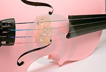 Pink Music instruments