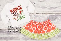 Baby Girl Fall Halloween Thanksgiving Boutique Outfits