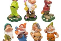 Disney Dwarf for Garden / These are collection of beautifully design garden dwarf featuring disney dwarf character