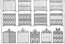 kerítés minták