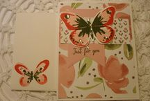 My Stampin Up Creations / Cards I have made with stampin up products!