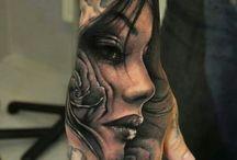 Hånd tatovering