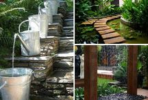 water features, in or outdoors - styles and designs