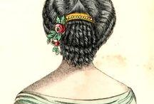 historical hairdo