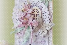 Cards - shabby chic / vintage inspired