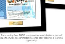 Investments (Teaching Kids About) / A board about teaching kids about investments