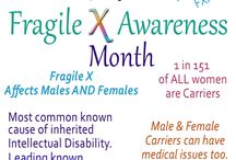 Fragile X Awareness Images / Images promoting Fragile X awareness