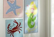 Beach Themed Girl's Nursery / by Jeannie Davis