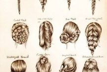 Hair tutorials and ideas