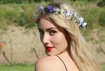 Corona de Flores para el pelo