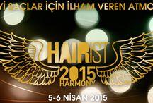 HAIRiST 2015 / Yılın Saç Tasarım Etkinliği ve Yılın Kuaförü Yarışması http://www.hairist.com.tr/2015/