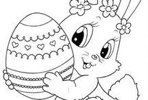 omalovanky Velikonoce