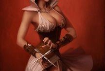 Sexy assassin / by Blazing Phoenix