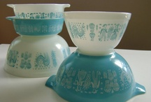 Amish Rooster bowls / by Debbie Forney