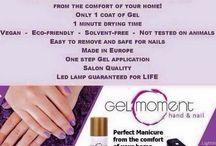 GelMoment / Gel polish nail manicure