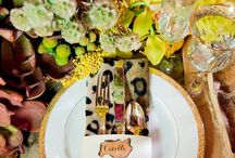 Exotic Affair  / I have always loved animal prints! Enjoy these inspiring ideas for incorporating prints and patterns into a luxurious wedding.