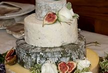 Wedding Cakes - Cheese / Alternate Wedding Cakes ... Instead of cake they are made of cheese...