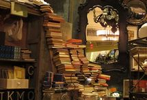 old books and places to read them / by Lisa Hewitt