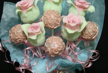 cake on a stick/cupcakes to