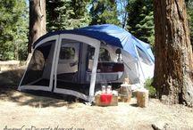 Camping (glamping)!