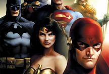 Justice of League original Super Hero's