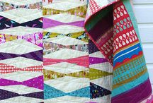 Quilts to Feature / A collection of quilt patterns that really feature your favorite fabrics; likely 'big block' patterns, or a repeated pattern, or ?? Feel free to share pins on this group board! / by A Quilter's Table