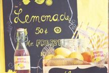 lemonade stuff / by Katie Killius