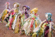 no sewing rag doll