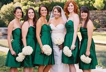 Brides maid dresses / by Kelly Kerski