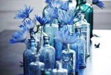 Blue Hue Decorating / by Sarah B Creative