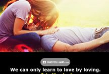 Love quotes / Quotes about love