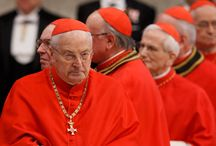 Catholic ~ Cardinals / by Christina Lamb