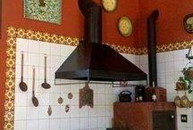 cozinhas fogão a lenha