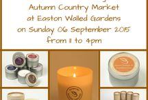 Forthcoming Events / Events that my aromatherapy candles and I will be attending
