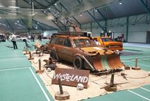 my show cars / madmax/postapocalyptic themed carshow car