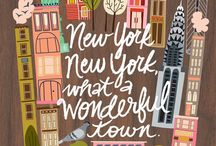 New York! / by Karleigh Ferre'